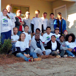 Students from Auburn and Alabama partner with Geordan Communities on House United Habitat Home Dec. 2013