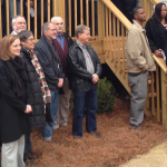 Dedication ceremony for the Jackson family Dec. 2014. Sponsored by Christian, Jewish and Islamic communities along with AU Habitat, Panhellenic, and Architecture